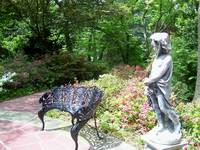 Cherub in a Japanese Garden