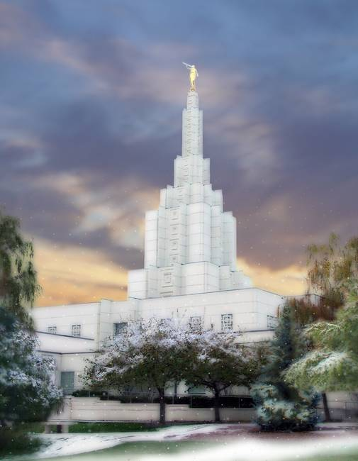We believe the Temple is the Lord's house on the earth.
