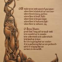 """""""Prayer of St Francis"""" by DonnaBrill"""