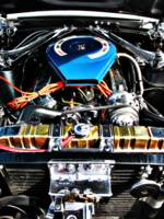 American Muscle Car Engine