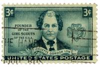 Girl Scours Founder Juliette Gordon Low Stamp