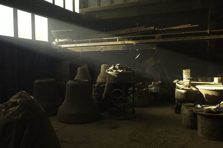 ray at bell foundry by Hans-Joachim Herr