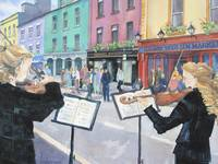 Fiddlers on the Streets of Galway by KIM KLOECKER