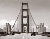 Golden Gate bridge shortly after opening by WorldWide Archive