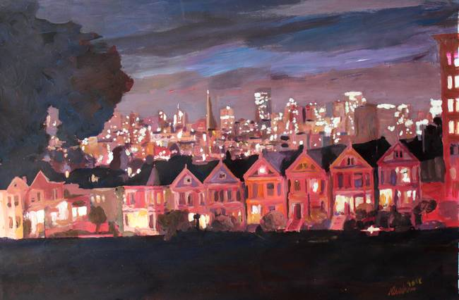 San Fran PaintedLadies