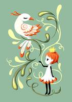 Princess and a Bird