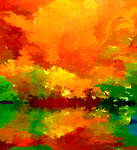 Abstract Autumn Display
