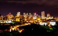 Edmonton Skyline by Night
