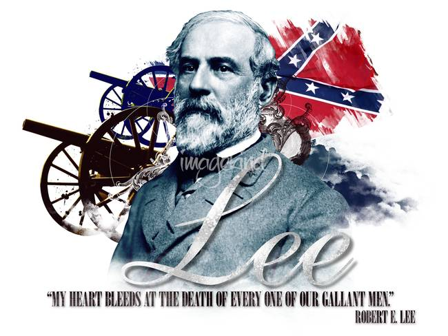 Robert E Lee My Heart Bleeds