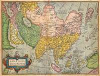 1670 Ortelius Map of Asia first edition Geogra