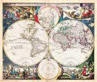 1685 Bormeester Map of the World Geographicus