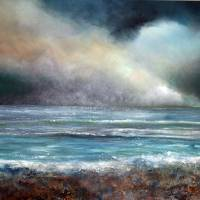 Storm Brewing Art Prints & Posters by john tregembo