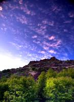 Violet Skies by Joshua Cramer