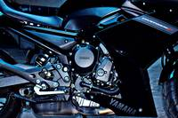 Yamaha Diversion F. Motor detail