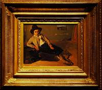 Camille Corot Jeune italien assis