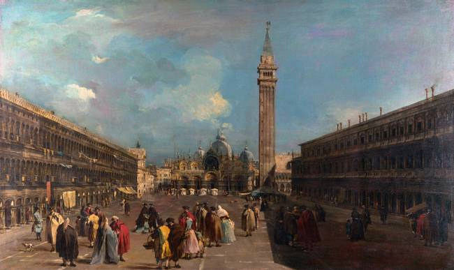 Francesco Guardi  Venice Piazza San Marco