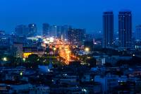 Bangkok nightscape