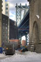 The Cleanup/Manhattan Bridge Arch at Adams