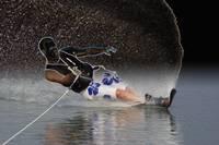 Slalom Waterskier by Daniel Teetor