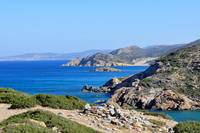 Fantastic view of the east coast of Crete.
