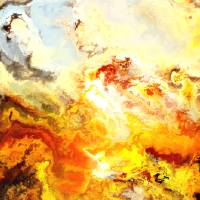 Sunset in the place of power Art Prints & Posters by Jury Onyxman