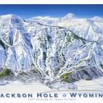 """Jackson Hole-1993"" by jamesniehuesmaps"