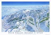 Deer Valley 1998 trail map image