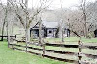 Martins Log Cabin,Boonesboro, Kentucky