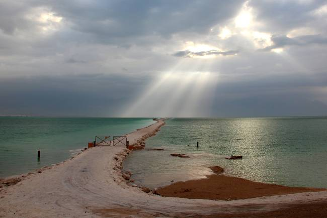 The Dead Sea at Dawn