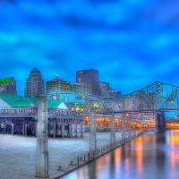 """""""Louisville River Front"""" by EdDevereaux"""