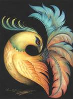Exotic Bird painting