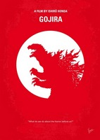 No029-1 My Godzilla 1954 minimal movie poster