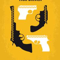 """No087 My Taxi Driver minimal movie poster"" by Chungkong"