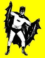 Batman Extending Cape - Yellow