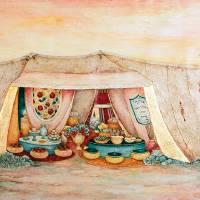 """Abrahams Tent"" by MuchnikArts"