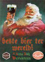 Westy 12 Westvleteren with Santa