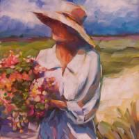 Beach Flowers by Beth Charles