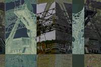 Mystic River Bridge CT Photoillustration