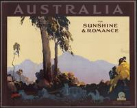 Australia Vintage Travel Poster Ad Retro Prints