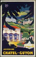 Auvergne France Vintage Travel Poster Ad Retro Pri