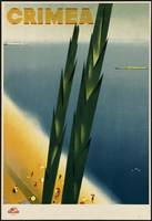 Crimea Vintage Travel Poster Ad Retro Prints