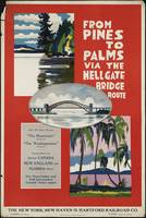 New York New Haven Vintage Travel Poster Ad Retro