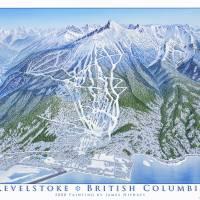 """""""Revelstoke British Columbia"""" by jamesniehuesmaps"""