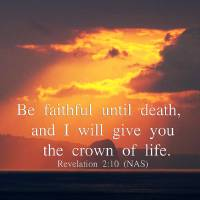 """""""Be Faithful Unto Death"""" by ethought"""