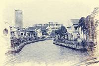 Street view on Malacca River