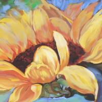 Giant Sunflower by Beth Charles