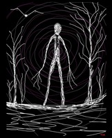 spooky woods whimsical astral magical mystical pag
