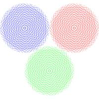 abstract graphic circles