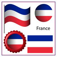 france graphic set