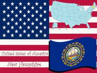 new hampshire state illustration
